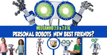 Meccano Meccanoid 2.0 & 2.0 XL Review - Personal Robot Toy