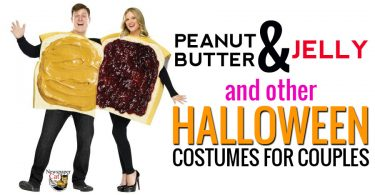 Peanut butter & jelly and other amazing Halloween costumes for couples.