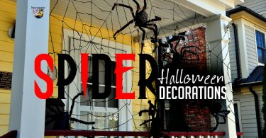 The best Halloween spider decorations you can use inside or outside.