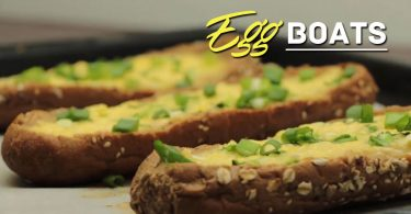 Learn How To Make Egg Boats