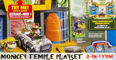 A Review Of The Paw Patrol Monkey Temple Playset Featuring Tracker And Mandy The Monkey